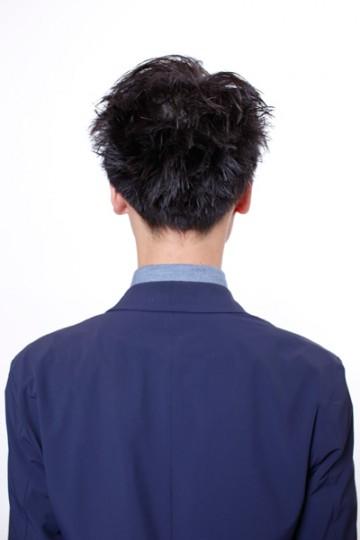 ラフショートメンズヘア
